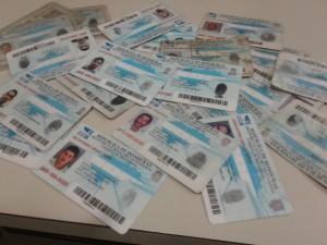 tarjetas de identidad