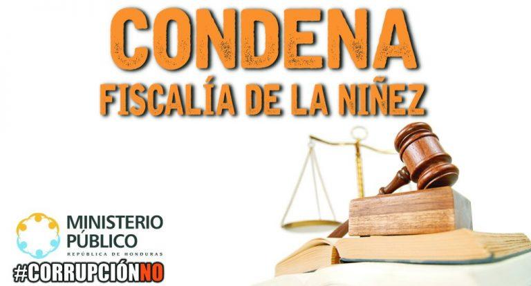 CONDENA NIÑEZ