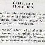 ARTÍCULO HOMICIDIO