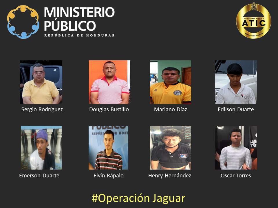 Operación Jaguar Caso Berta Cáceres Juicio