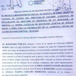 REQUERIMIENTOS FISCALES 80 FISC. MUJER NIÑEZ CORAZA