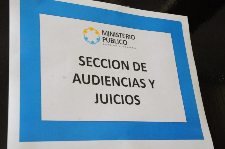 SECCIÓN DE AUDIENCIAS Y JUICIOS
