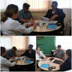 Mujer y reunion ministerio de educacion