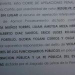 REVOCAN SOBRESEIMIENTO A EXEMPLEADOS ALCALDIA SPS