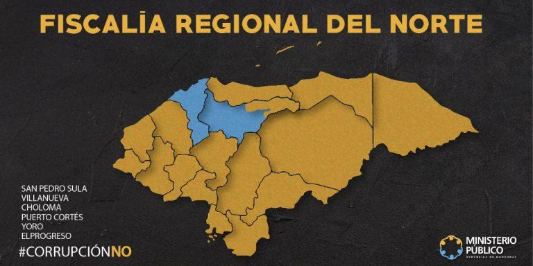 MAPA REGIONAL DEL NORTE