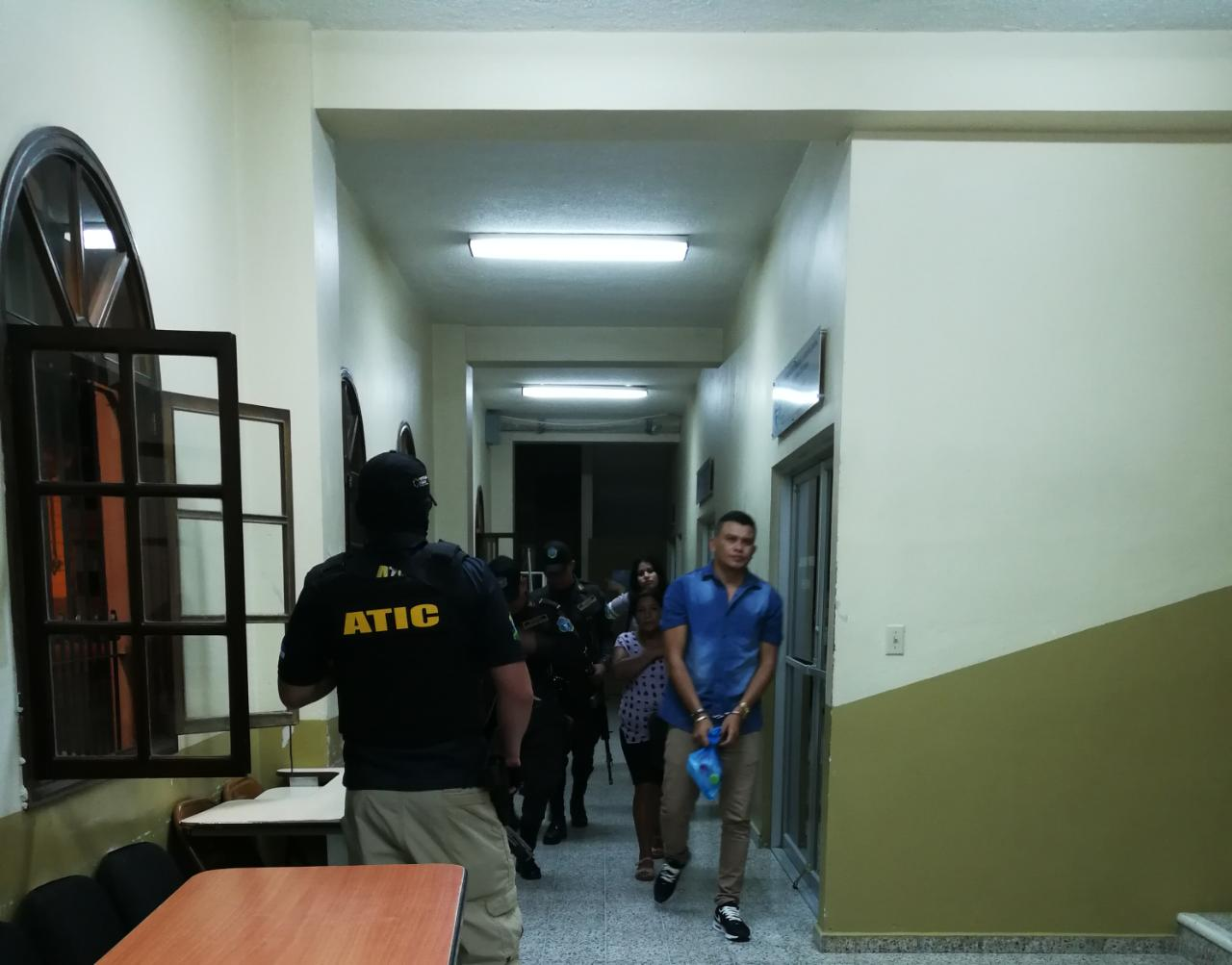 Caso presunto cabecilla estructura criminal Copán