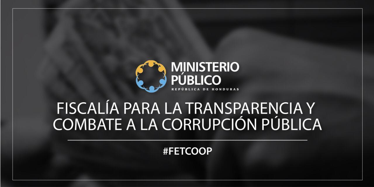 ARTE FISCALÍA PARA LA TRANSPARENCIA Y COMBATE FETCOOP