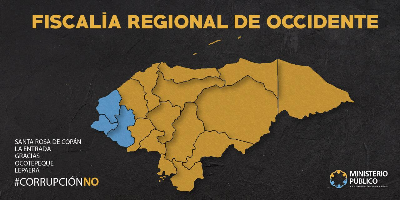 MAPA REGIÓN OCCIDENTE