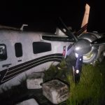 aeronave 16 fardos de droga fescco atic