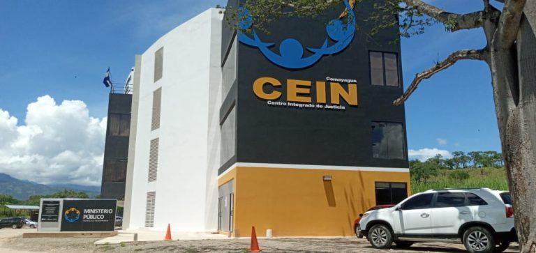 Fachada Cein Comayagua