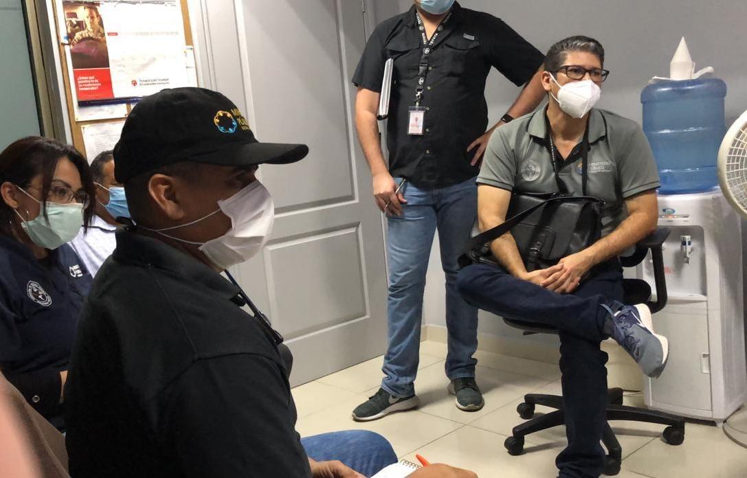 Equipo Multidisciplinario de la Dirección de Medicina Forense se integra al trabajo en la Regional de San Pedro Sula tras el paso de ETA