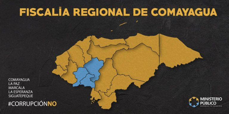MAPA REGIONAL DE COMAYAGUA