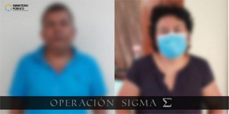 Operación Sigma MP da captura a cabecillas de grupo organizado de lavado de activos