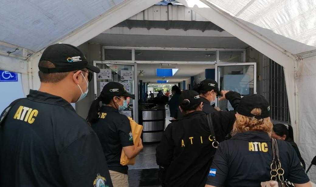 ATIC DECOMISA DOCUMENTOS EN COPECO ANTE NEGATIVA