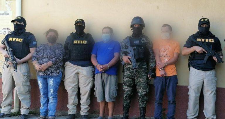 ATIC captura a tres personas en allanamientos en Copán
