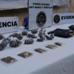 CAPTURADOS CON DROGA EN COMAY Y LA PAZ
