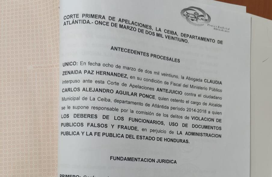 Antejuicio Ceiba