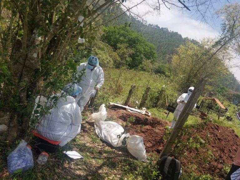 Exhumacion Yorito