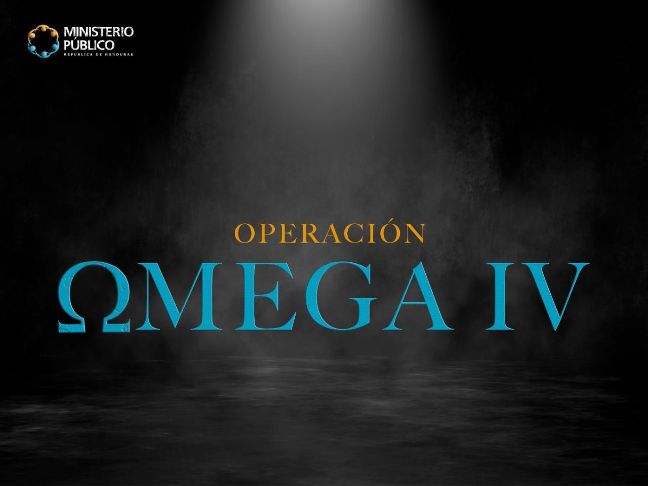 LOGO OPERACIÓN OMEGA IV