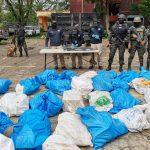 MP coordina allanamiento en Colón donde incautan cargamento de droga