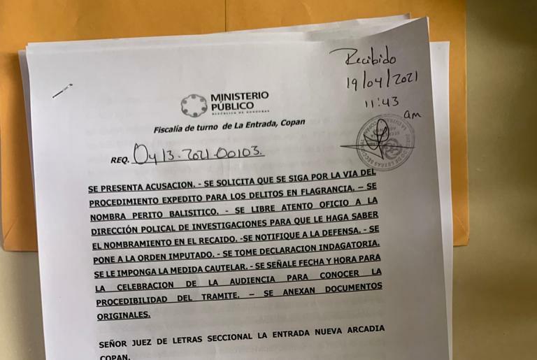 REQUERIMIENTOS EN LA ENTRADA COPÁN