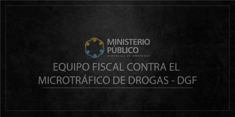 UNIDAD MICROTRÁFICO 2021