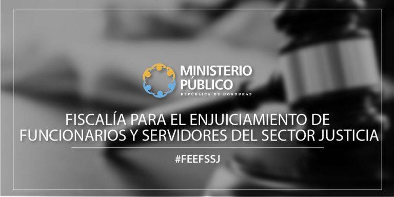 F. Enjuiciamento de funcionarios y servidores del sector justicia