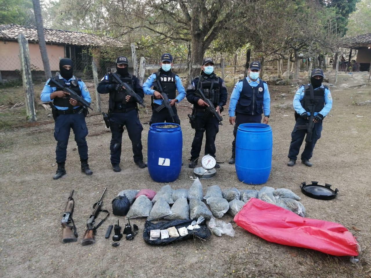 captura en Talanga