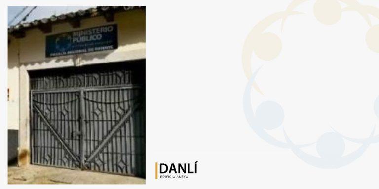 fachada de edificio anexo Danlí