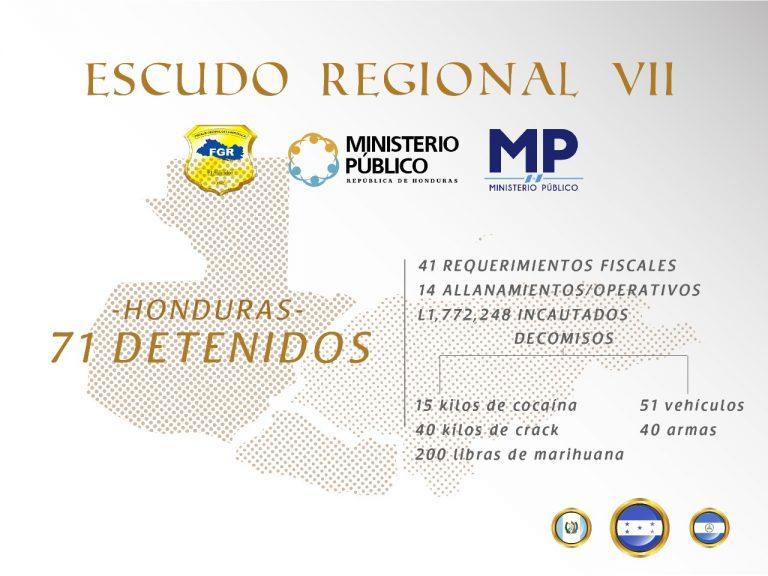 operación escudo Regional VII