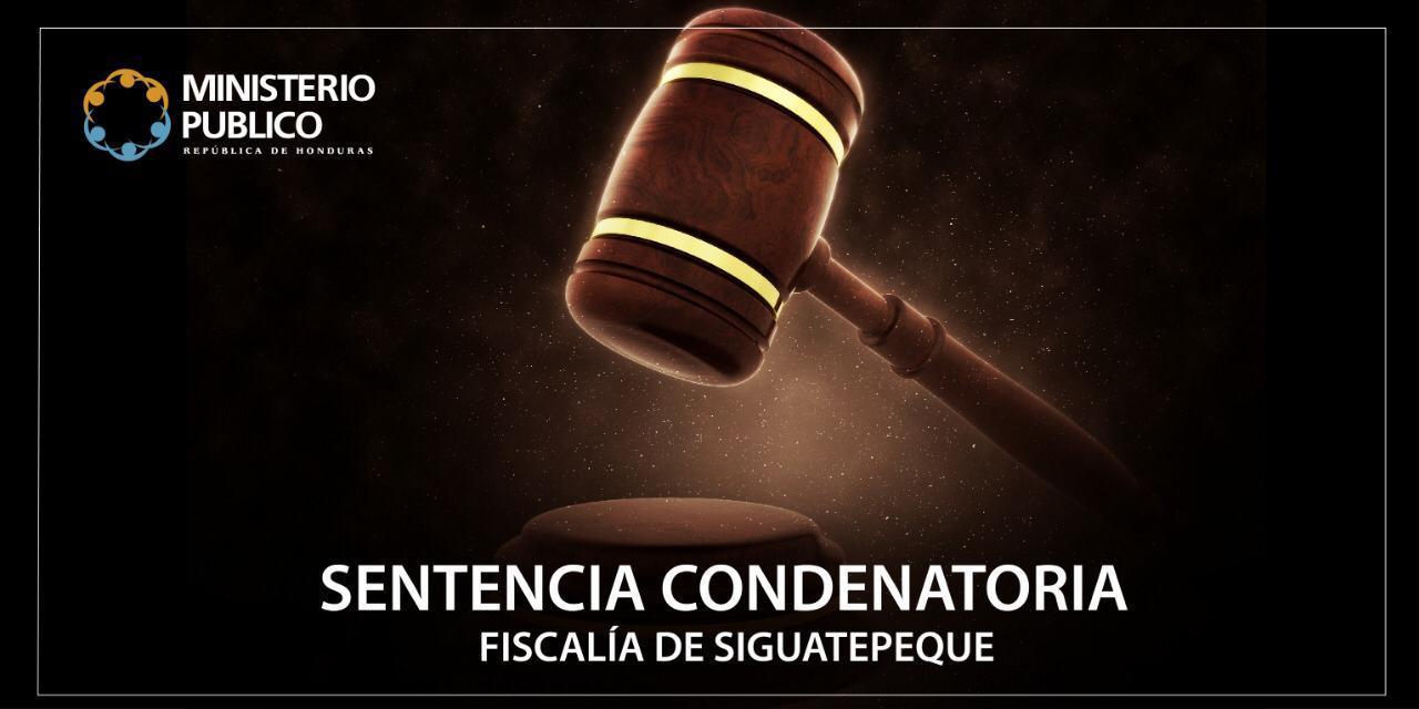 sentencia condenatoria siguatepeque