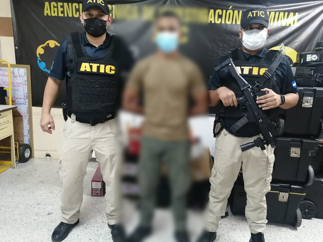 ATIC captura a policía municipal acusado del homicidio de joven en violento desalojo en Río Blanco Cortés