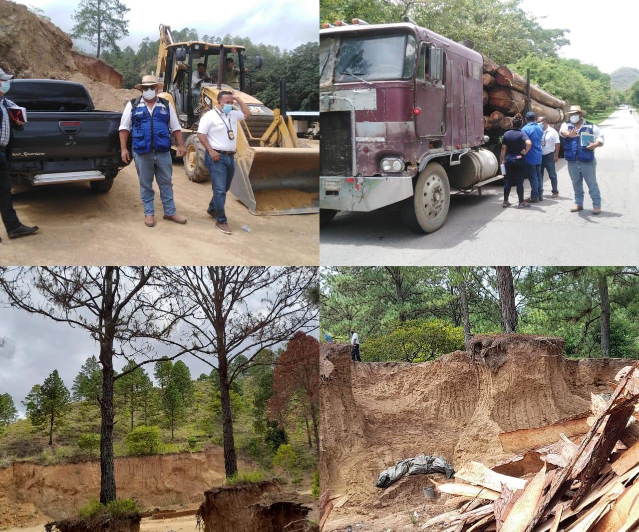 Durante OMEGA VI fiscales decomisan retroexcavadora y presentan acción penal por explotación ilegal agravada de recursos naturales en área protegida 1