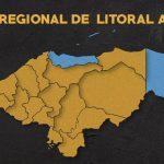 Mapa Litoral atlántico