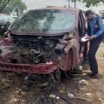 Mecánico es acusado por desmantelar vehículos robados