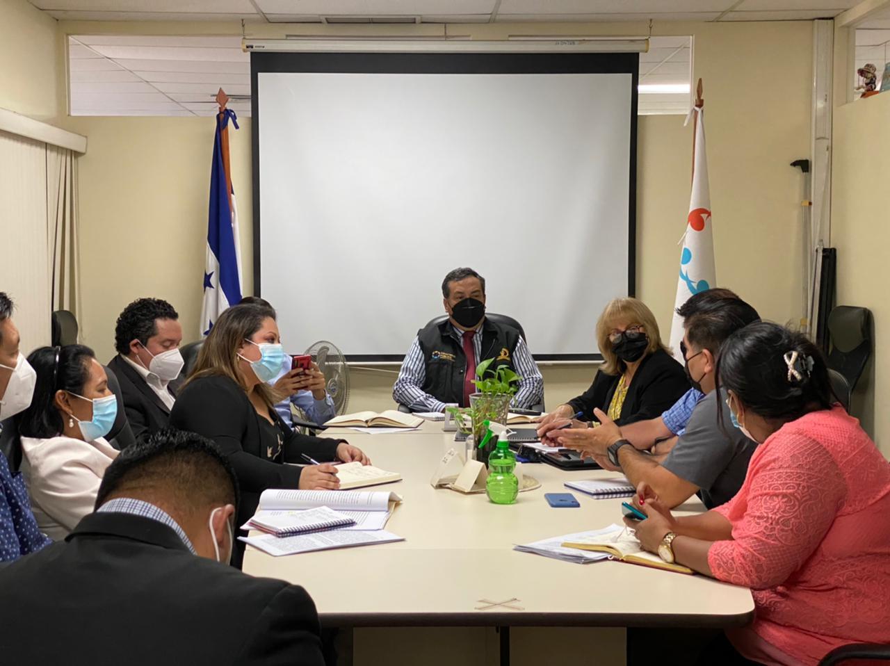Se diseña plan de capacitación a iniciativa de las Fiscalías del Triángulo Norte de CA y USAID