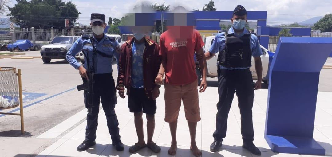 Siete acusados por distintos delitos en Comayagua