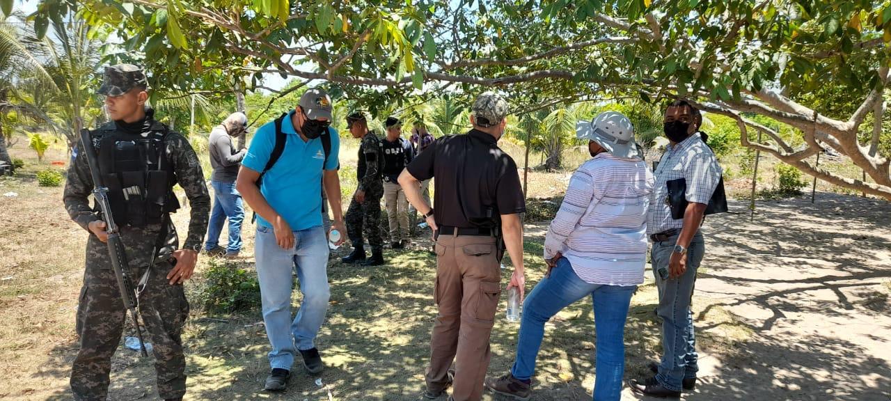 cinco personas condenadas en La Ceiba