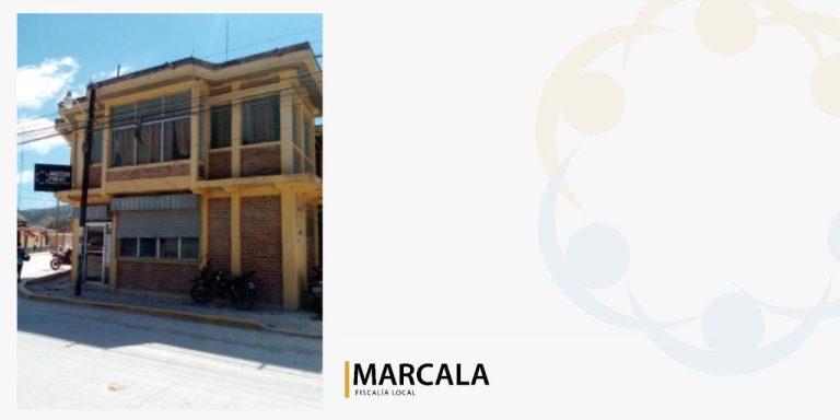 fachada de Marcala