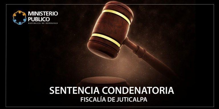 sentencia f. Juticalpa