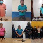 13 personas detenidas en Danlí durante el fin de semana