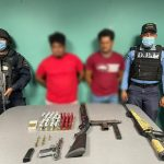 Capturan hombres en posesión de armas de fuego y ejecutan operativos para prevenir posibles de delitos de trata y tráfico de personas en Puerto Cortés