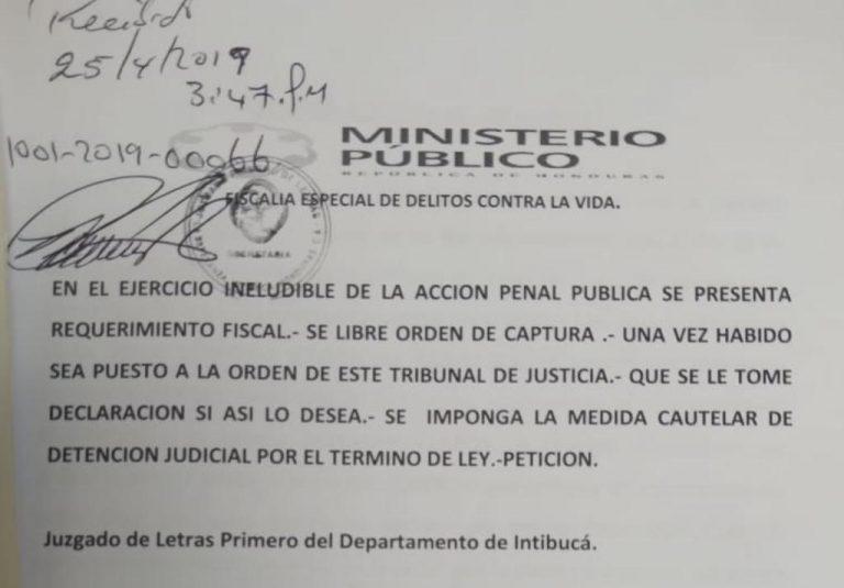 Declaran culpable a ex policía por el homicidio de ciudadano en Intibucá