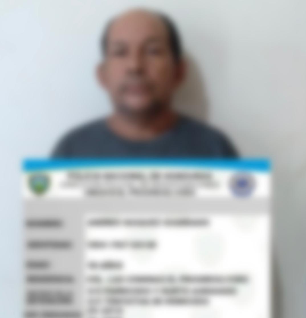 En Operación Omega VII capturan a hombre que evadió la justicia por 15 años y que habría matado a su esposa en El Progreso Yoro