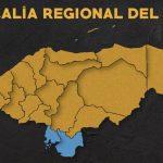 Mapa Regional del Sur